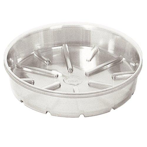 Bond Manufacturing Deep Plastic Saucer, 17-Inch, Clear BFG Supply CVS017DL