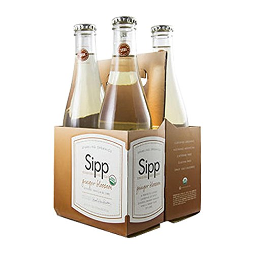 Sipp Eco Beverage Company GINGBLOS4 Sipp Organic Ginger Blossom (SET OF 24 PER CASE)
