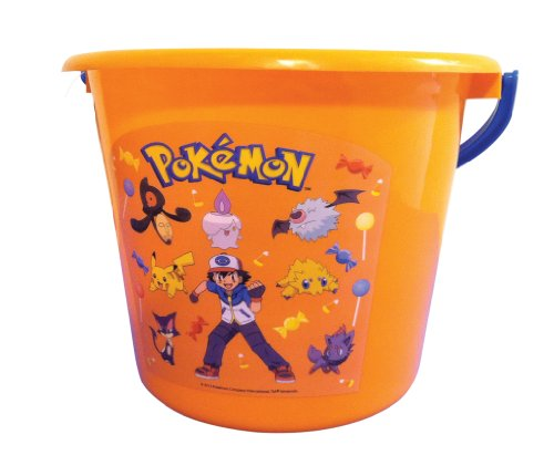 Pokemon Sand or Trick-or-Treat Pail (Pokemon Trick Or Treat)
