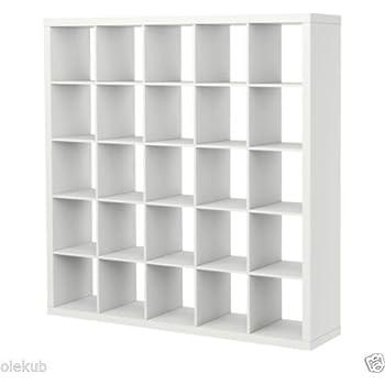IKEA Kallax 5 X 5 Bookshelf Storage Shelving Unit Bookcase WHITE NEW Rep  Expedit