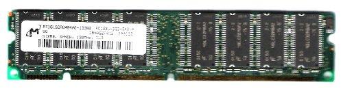 (Micron 512MB PC133 SDRAM DIMM Memory Module - MT16LSDT6464AG-133B2)