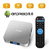 Android 9.0 TV Box, AI Two Android Box RK3328 Quad-core 64bit 4GB DDR3