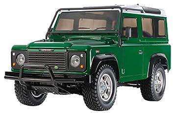 Tamiya 58657 58657-1:10 RC Land Rover Defender 90 CC-01 - Maqueta de Coche teledirigido (sin lacar): Amazon.es: Juguetes y juegos