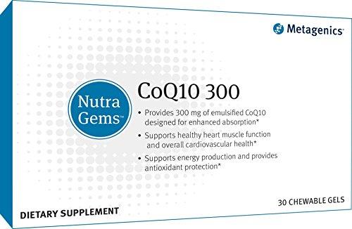 Metagenics NutraGems COQ10 300 Count