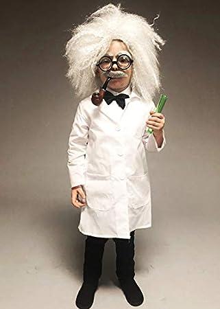 Magic Box Disfraz de científico Loco del Estilo de Einstein del tamaño de los niños Large (10-12 Years): Amazon.es: Juguetes y juegos