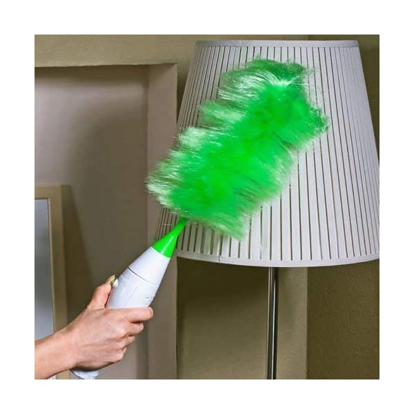 Go Dust Electric Feather Motorised Cleaning Set Home Duster