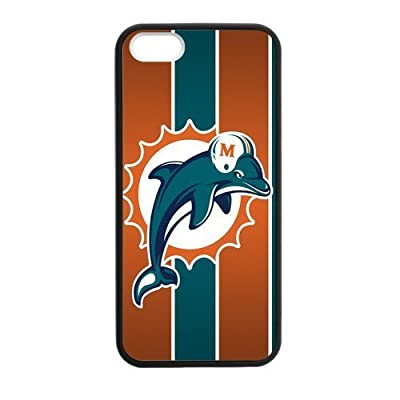Caitin Hipster Miami?Dolphins Cases Cover Protection Hard Shell for iPhone 5,5s