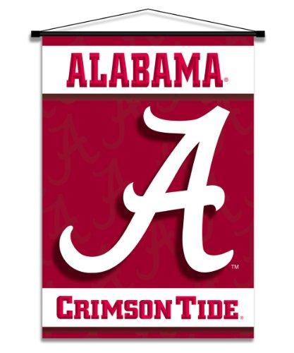 NCAA Alabama Crimson Tide Indoor Banner Scroll