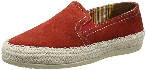 Burnt Orange Orange Espadrilles Damen Caputi Lotus I1wqURX