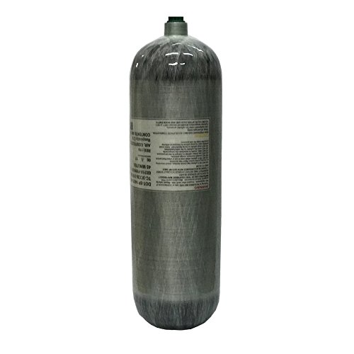 IORMAN Universal 6.8L/75cf Carbon Fiber Tank 4500psi Composite Air Cylinder Paintball Fill Station