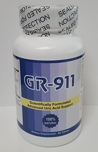 GR 911 Clinical Strength 90 Tab (Formerly called Gout Relief)