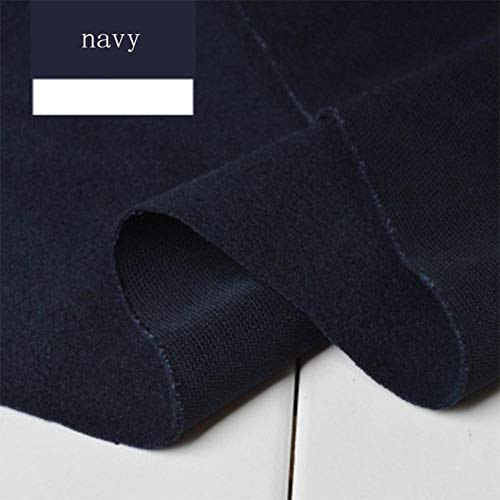 Fabric - 1Pc 100x150cm Wide Thickening Cashmere Cloth 26 Pure Color Imitation Wool Clothing DIY Winter Coat Fabric -