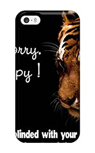 Tpu Case Cover Compatible For Iphone 5/5s/ Hot Case/ Happy Tiger Quote
