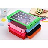 CaseiPad Air 2 compatible Shock-Proof Mixed Color Silicone Back Cases , 6#