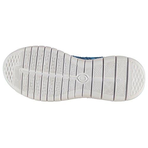 Tessuto Flyer runner da donna navy sneakers scarpe sportive calzature, Navy