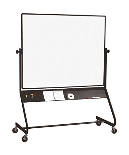Best Rite Multipurpose Euro Mobile Reversible Board Projection Plus Porcelain Markerboard 40