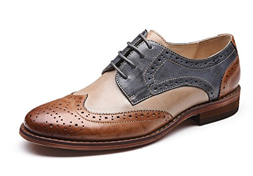 Women Oxford leather shoes E215 (8 B(M)US, B)