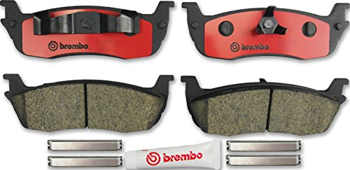 Brembo P24083N Rear Disc Brake Pad (Brembo Lincoln Navigator)