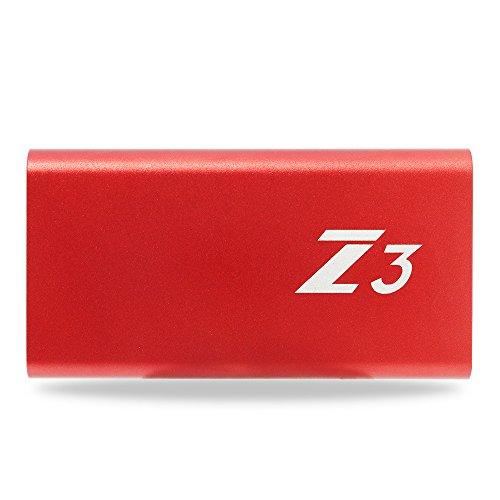 KingSpec SSD 64GB Portable SSD Type C USB3.1 Gen1 External SSD (Z3-64) 3D MLC NAND by KingSpec