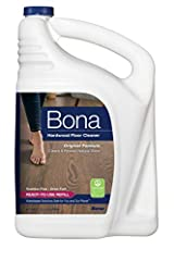 Bona Hardwood Floor Cleaner Refill fills your empty Bona cartridge or spray bottle with ready-to-use Bona Hardwood Floor Cleaner. The bottle has splashless technology, and the handle and side grip allow for an easy, controllable refill experi...