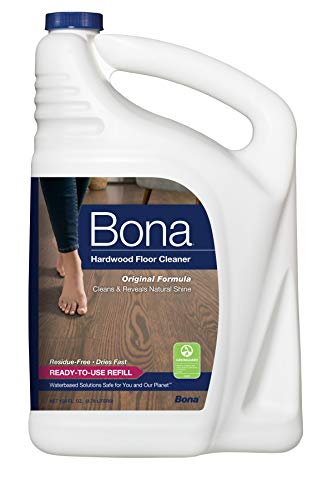 Bona Hardwood Floor Cleaner Refill, 128 Fl Oz