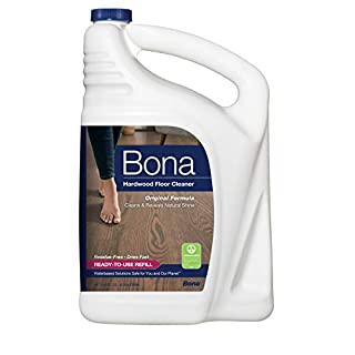Bona Hardwood Floor Cleaner Refill, 128 Fl Oz (Pack of 1), Clear