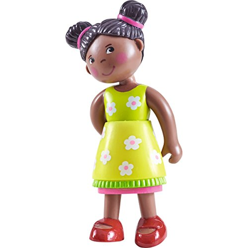 "Search : Little Friends Naomi - 4"" African American Bendy Girl Doll Figure with Pig Tails"