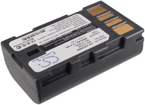 GR-DA30 800mAh Replacement for JVC GR-D875US GR-DA30AC Battery P//N BN-VF808 GR-DA20 BN-VF808U GR-DA20EX