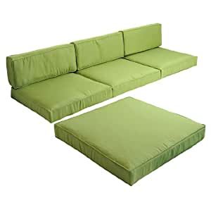 Amazon Com Outsunny 5pc Outdoor Sofa Chaise Lounge