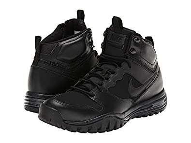 Amazon.com | Nike Men's Dual Fusion Hills Boots (Leather)  Black/Anthracite/Black 6 | Hiking Boots