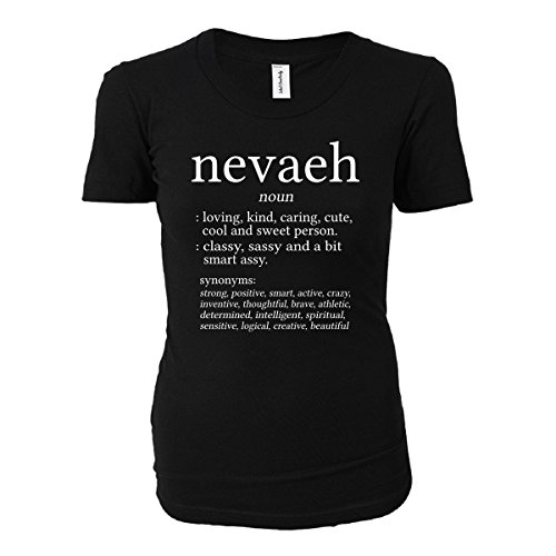 Nevaeh Name Meaning. Dictionary Format. Funny Gift - Ladies T-shirt