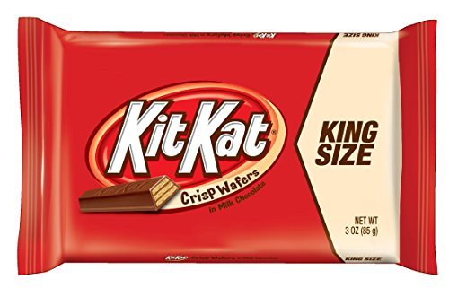 Kit Kat Candy Bar, Crisp Wafers in Milk Chocolate, 3-Ounce Bars (Pack of 24) Kit Kat Candy Bars