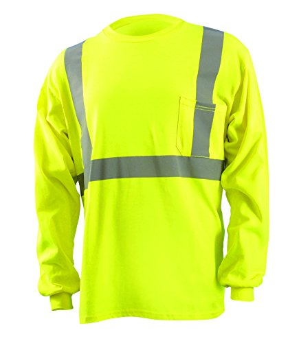 Occunomix Occlux Ansi Long Sleve T Flame Resistant M Yellow