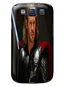 custom fashionable Cool Chris Hemsworth Thor phone accessory TPU phone case/cover with cool photo designed for Samsung Galaxy s3