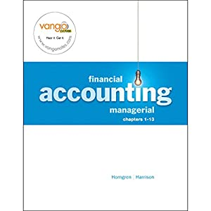 VangoNotes for Financial and Managerial Accounting, 1/e Volume 1 Audiobook