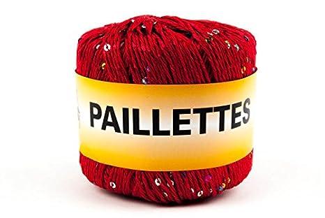 Woolove Paillettes 50gr Filato Con Paillettes Cotone E Poliestere1