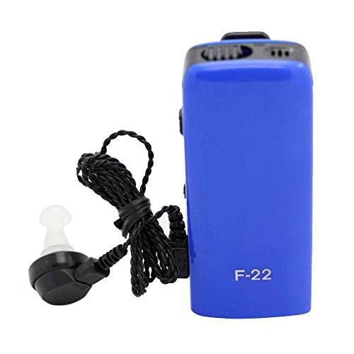 (Jingrui AXON F-22 Pocket Sound Amplifier Wire Ear Plugs Hearing Aid Ear Device Elderly Hearing Loss People)