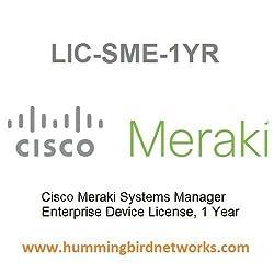 LIC-SME-1YR Meraki Systems Manager Enterprise License, 1 Year