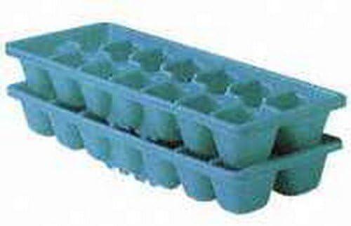 Rubbermaid 2879-RD-PERI Blue Plastic Ice Cube Trays 2 Pack