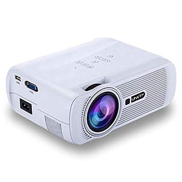 Mini proyector de vídeo LCD 1000 lumens Home Cine Mini proyector ...