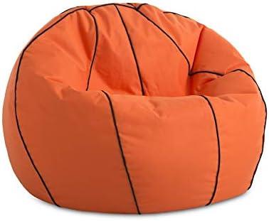 Textilhome - Pelota PUF de Futbol y Basket de Puff, 90cm Diametro ...