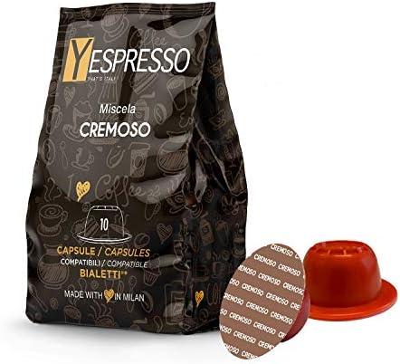 yespresso BIALETTI compatibili (CREMOSO) – 240 capsule