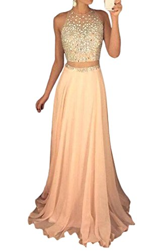 Womens Pieces Sequined Bodice Chiffon product image