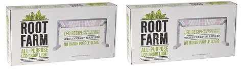 Root Farm LED Grow Light 45W (2-Pack)