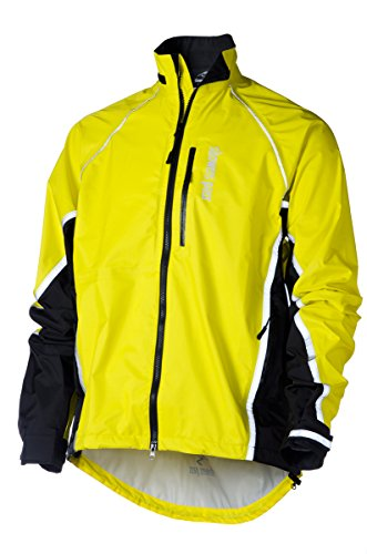 Showers Pass Men's Waterproof Transit Jacket, Yelling Yellow, X-Large