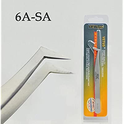 –Rizador de garantía, Vetus 6A de SA–Pinzas para Volume Lashes, wimpern Extensions