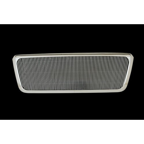 Paramount Restyling 42-0328 Full Replacement Packaged Billet Aluminum Grille with 4 mm Vertical Bars