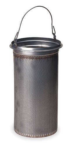 Pentair - BT-12-4-ML-O-80-75 - 304 Stainless Steel Strainer Basket, Mesh Size 80, For Use With: #12 Bag Housing by Pentair