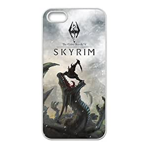Wonderful skyrim Cell Phone Case for iPhone 5S