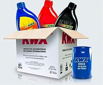 Kwx Kit Cambio De Aceite Sintetico Y Filtro Para Chevrolet Aveo